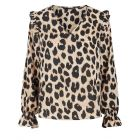 Pieces Nolly Blouse in Leopard