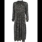 Black Colour Luna Rose Boho Dress in Coco Blue
