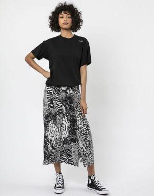 Religion Midi Skirt in Sensation White