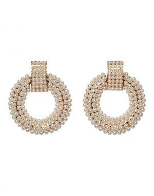 Vero Moda Kahlo Pearl Earrings