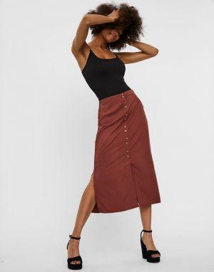 Vero Moda Hafia Skirt in Sable