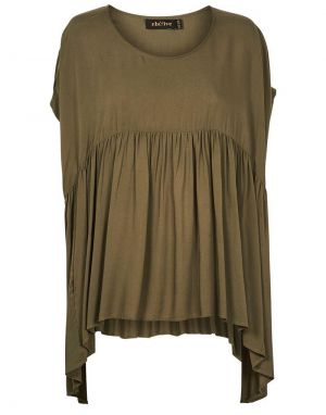 Eb and Ive Mahala Top in Moss