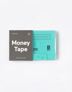 DOIY Money Tape Wallet Green