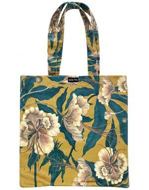 Vanilla Fly Velvet Tote Bag - Print 7