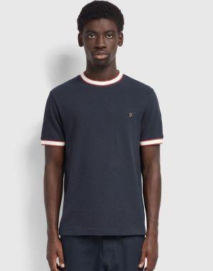 Farah Birmingham T-Shirt in True Navy