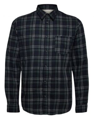 Selected Homme Matthew Shirt in Forest Night