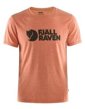 Fjallraven Logo T-Shirt in Rowan Red