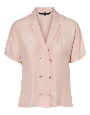 Vero Moda Anya Shirt in Sepia Rose