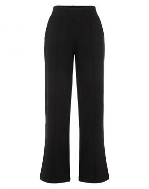 Pieces Chilli Wide Leg Lounge Pants in Black