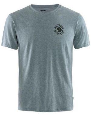 Fjallraven 1960 Logo T-Shirt in Uncle Blue Melange