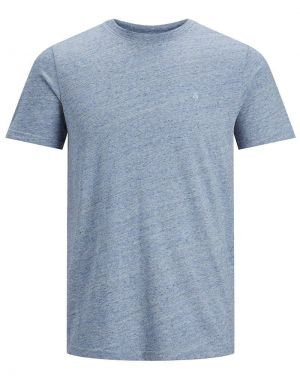 Jack and Jones Melange T-shirt in Faded Denim Melange