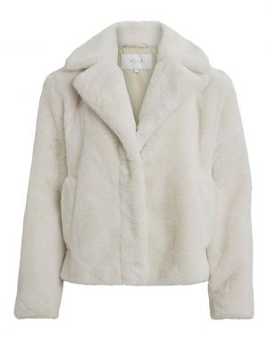 Vila Mars Short Faux Fur Jacket