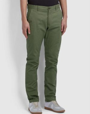 Farah Elm Chino Trousers in Vintage Green