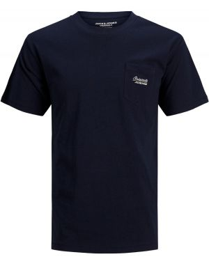 Jack and Jones Eazy T-Shirt in Navy Blazer