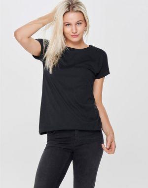 JDY Louisa Life T-shirt in Black