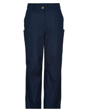 Numph Bizzy Pants in Navy