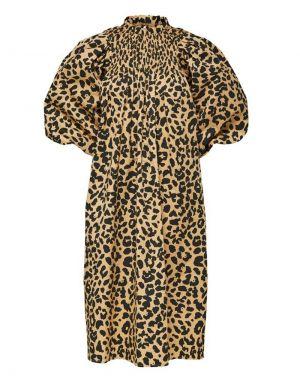 Selected Femme Kira 3/4 Dress in Leopard