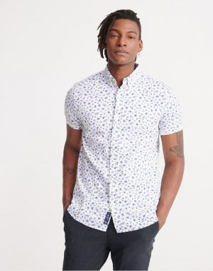 Superdry Shoreditch Printed Shirt in Optic Paisley