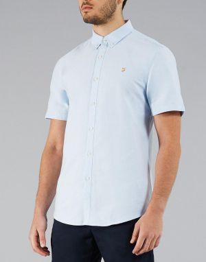 farah cotton oxford brewer shirt