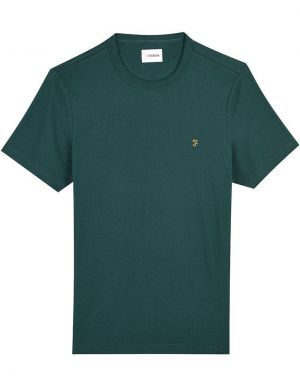 Farah Danny T-Shirt in Emerald Green