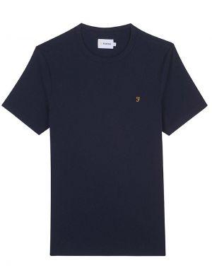 Farah Danny T-Shirt in True Navy