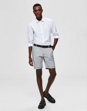 Selected Homme Paris Stripe Shorts