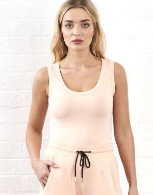 Sundae Tee Vickie Vest in Peach