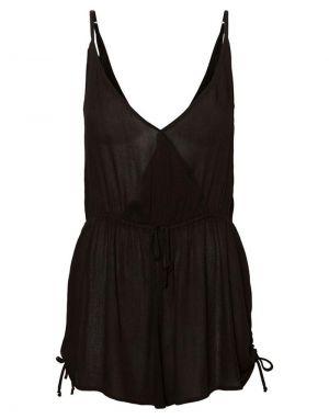 Vero Moda Morning Short Jumpsuit in Black