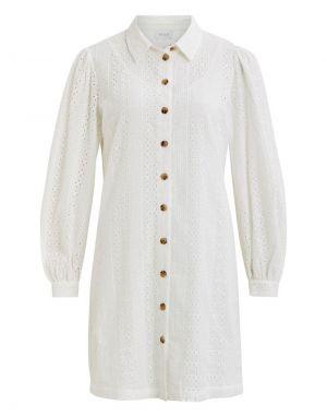 Vila Kancy Dress in White
