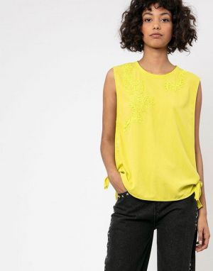 Religion Immaculate Vest in Yellow
