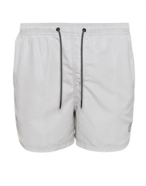 Jack and Jones Bali Swimshorts in Glacier Grey