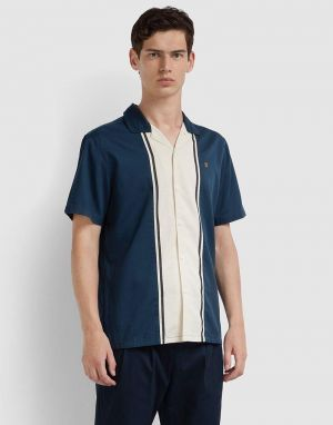 Farah Houston Shirt in Farah Teal