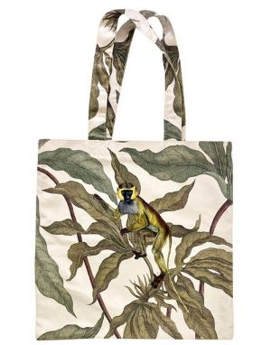 Vanilla Fly Velvet Tote Bag - Print 6