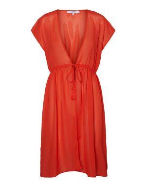 Vero Moda Blazer Kimono in Cherry