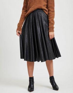Vila Lena New Midi Skirt in