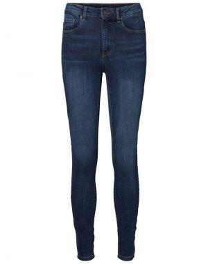 Vero Moda Sophia Highwaist Skinny Jeans in Med Blue
