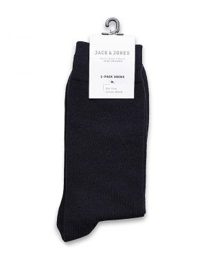 navy jack and jones cotton socks