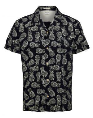 Selected Homme Regmildas Pineapple Shirt