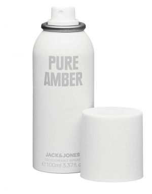 Jack and Jones Pure Amber Deodorent Spray 100ml