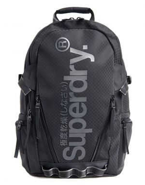 Superdry Combray Tarp Backpack in Black