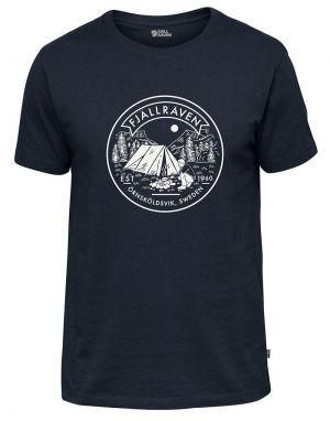 Fjallraven Lagerplats T-Shirt in Navy
