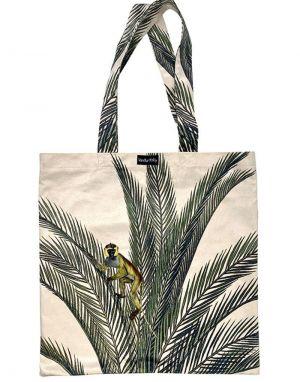 Vanilla Fly Velvet Tote Bag - Print 8