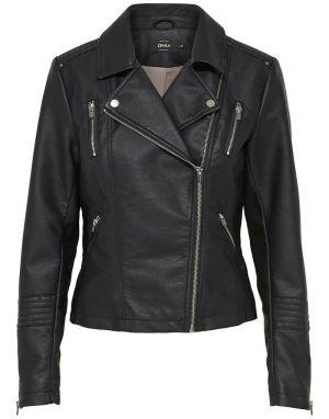 Only Gemma Faux Leather Biker Jacket