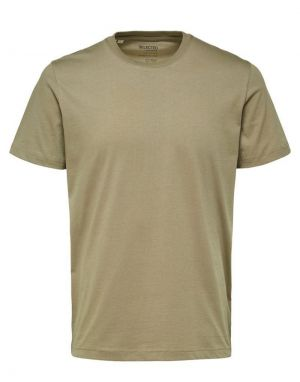 Selected Homme Norman T-shirt in Alfalfa