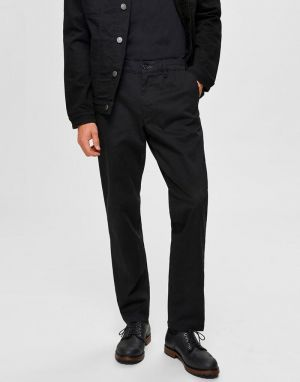 Selected Homme Miles Slim Fit Chinos in Dark Sapphire