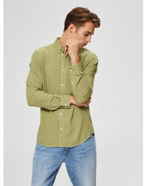 Selected Homme Pastel Shirt in Sage