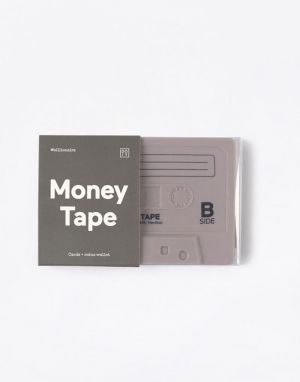 DOIY Money Tape Wallet Grey