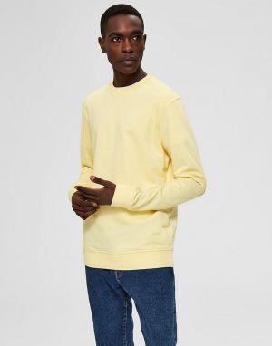 selected homme bono organic cotton sweatshirt