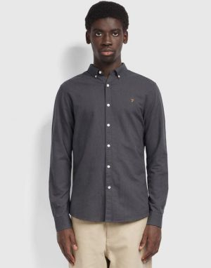 Farah Brewer Shirt in Farah Grey