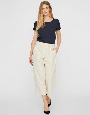 Vero Moda Kira Coco Pants in Birch